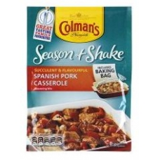 Colmans Season & Shake Spanish Pork