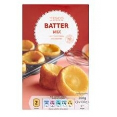 Tesco Batter Mix